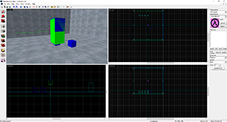 Screenshot of the Valve Hammer editor